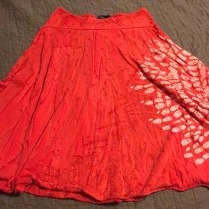 Dresses & Skirts - Prana Red Skirt